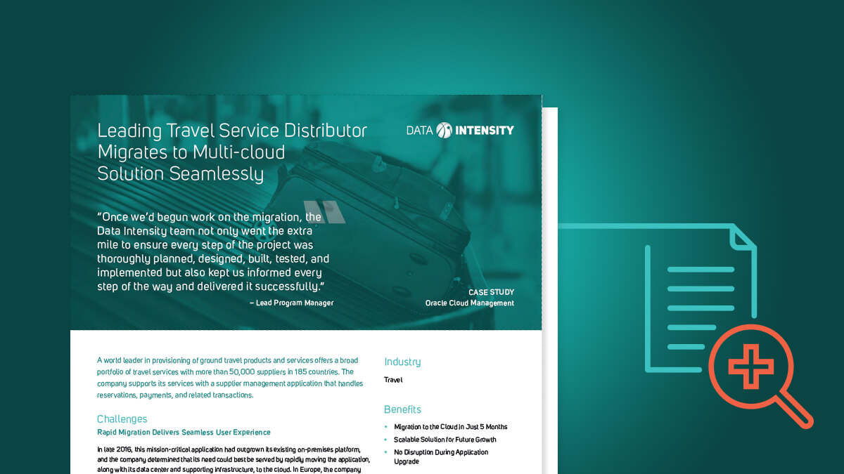 Leading Travel Service Distributor Migrates to Multi-cloud Solution Seamlessly
