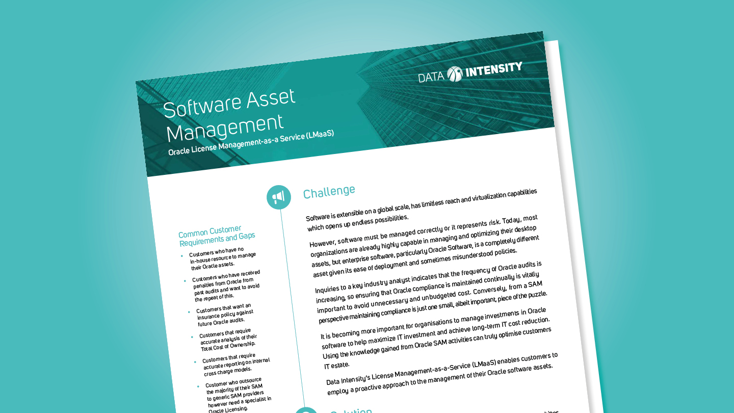 Software Asset Management Solutions (LMaas)