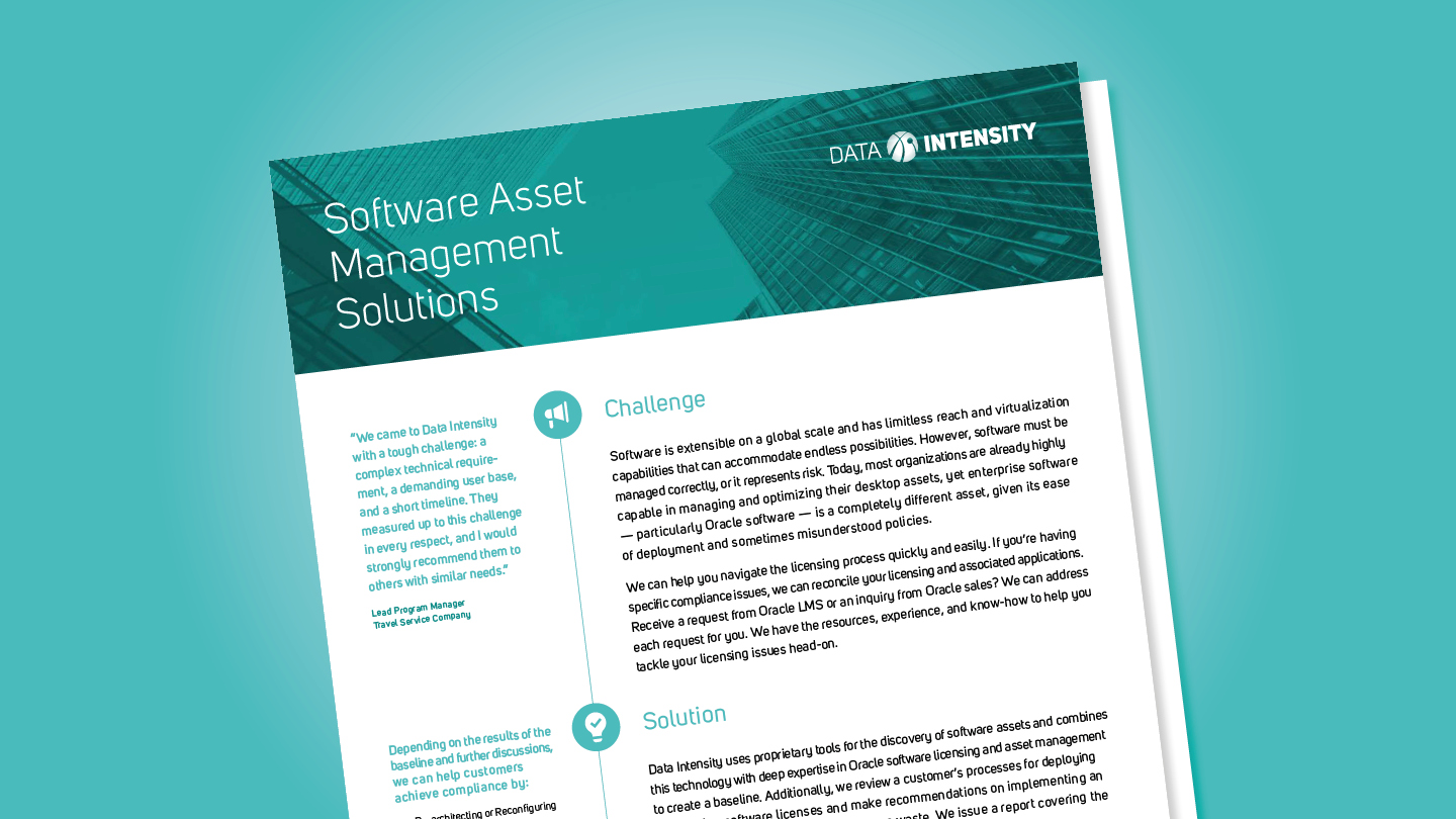 Software Asset Management Solutions