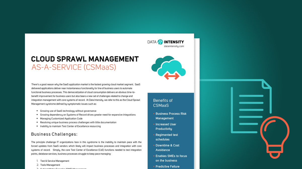 Cloud Sprawl Management Solutions Datasheet
