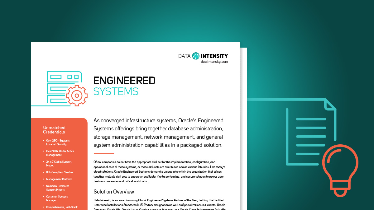 Engineered Systems Solutions