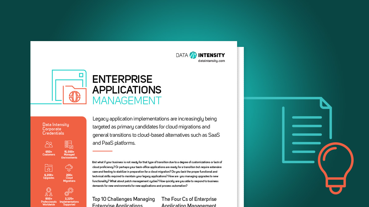 Enterprise Applications Management