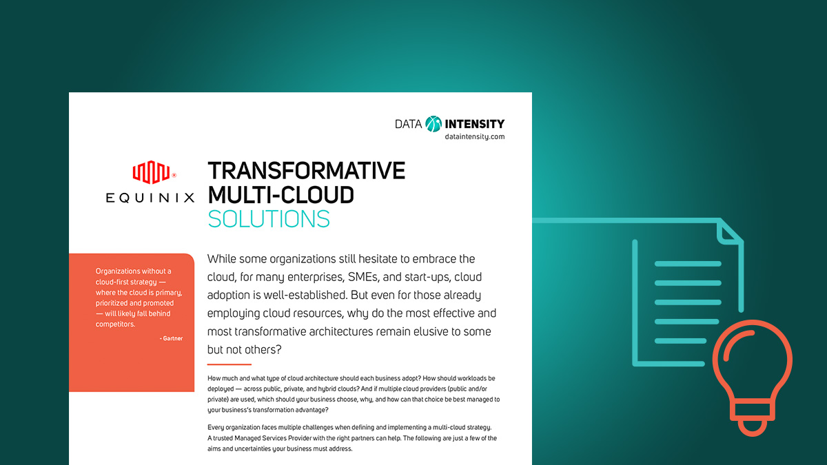 Transformative Multi-Cloud Solutions