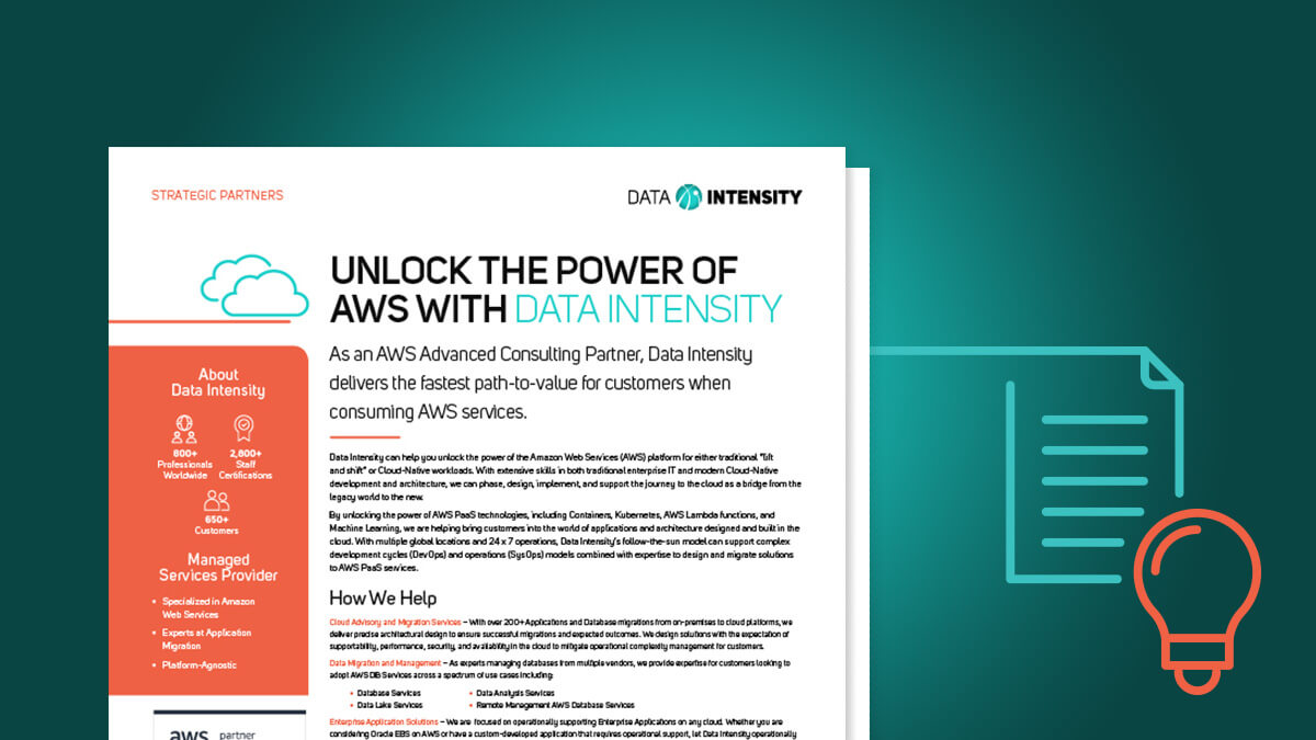 Unlock the Power of AWS with Data Intensity