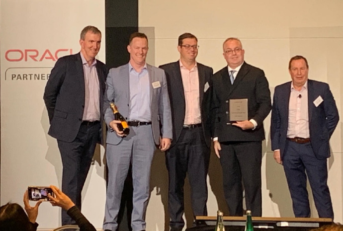 Data Intensity Wins Oracle 2019 Digital Partner of the Year Award for Australia New Zealand