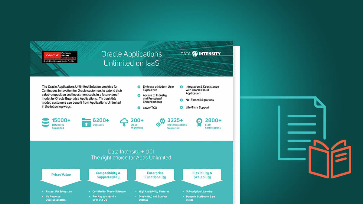 DI Oracle Applications unlimited on IAAS