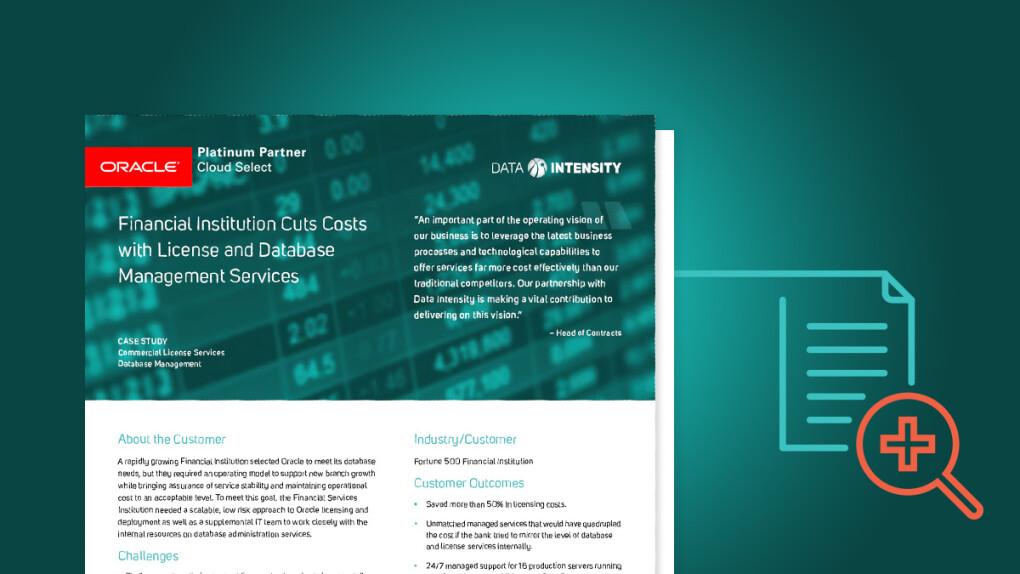 Customer Hub | Data Intensity